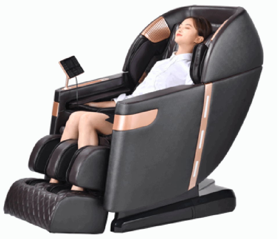 MH-C022 Real Relax Full Body Recliner With Heat And Foot Rollers