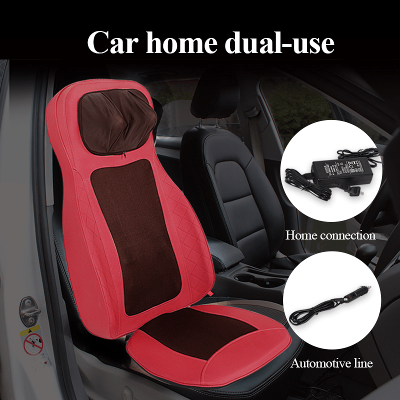 car cushion with massage and heat