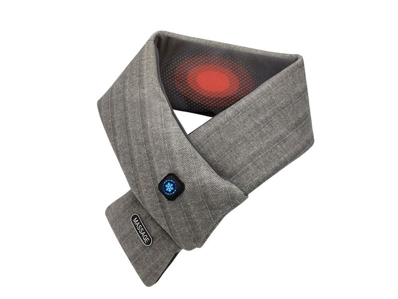 heated scarf with massage